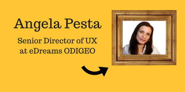Angela Pesta UX Director ODIGEO