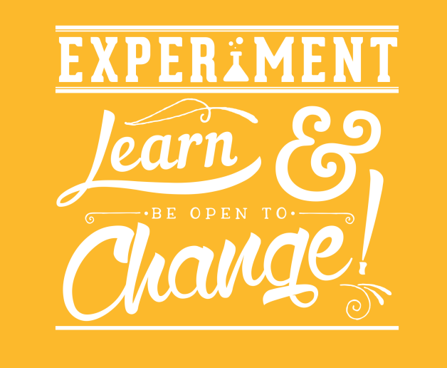 Experiment and learn